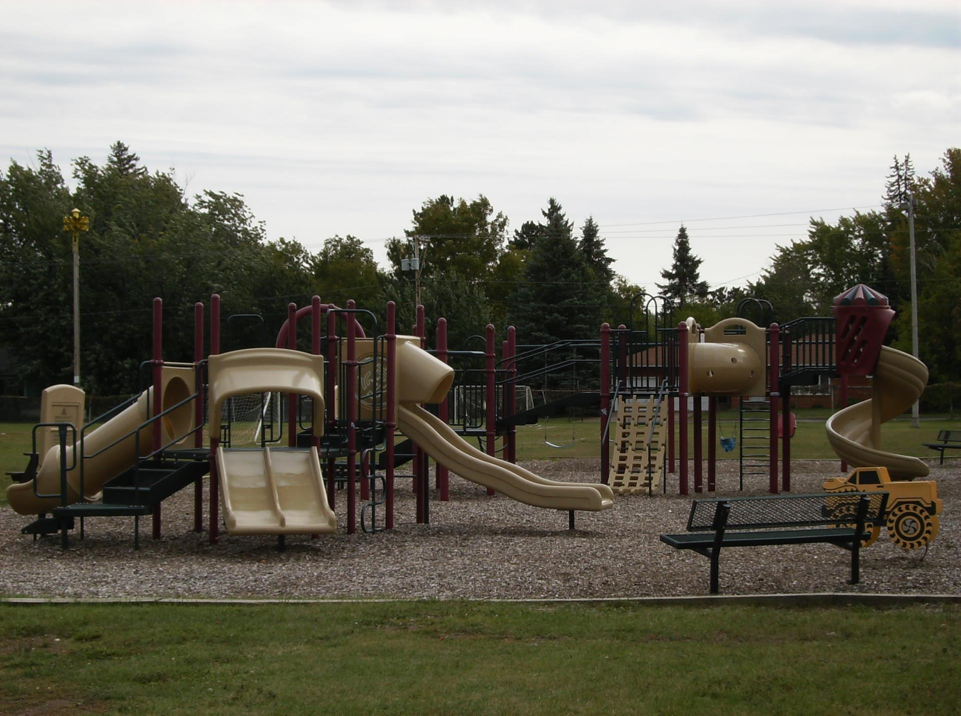 Athletic Park Play Structure